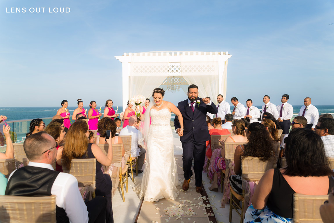 Azul Beach Hotel Riviera Maya Wedding 041