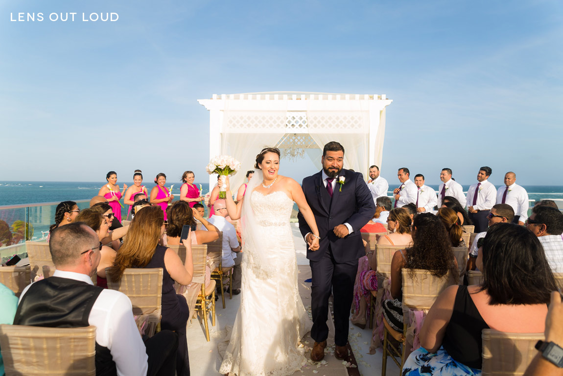 Azul Beach Hotel Riviera Maya Wedding 042