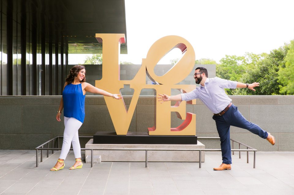 San Antonio Engagement Session | Cori & Steve
