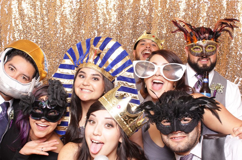 SAN ANTONIO WEDDING PHOTO BOOTH | Yvette & Ben
