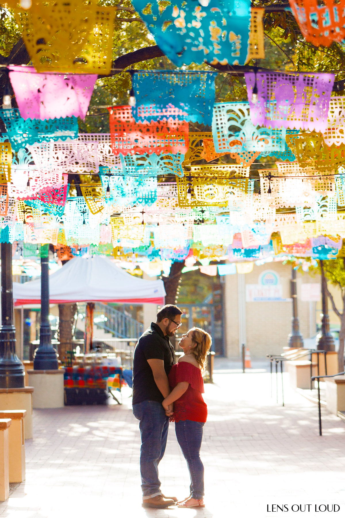 Outdoor Engagement Photo Locations in San Antonio, TX