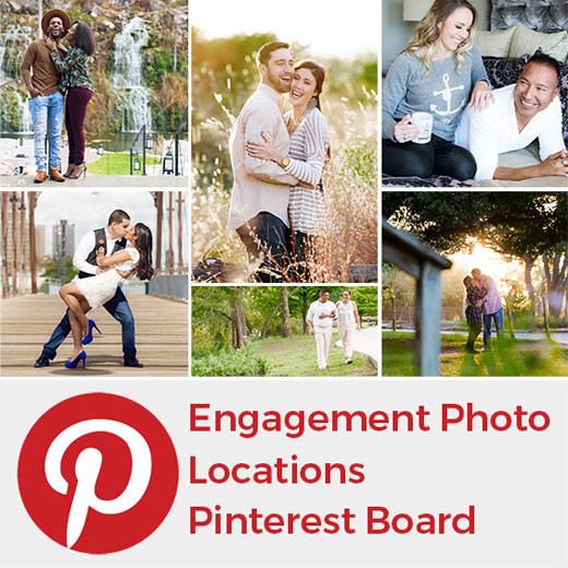San Antonio Engagement Photo Locations Pinterest Board