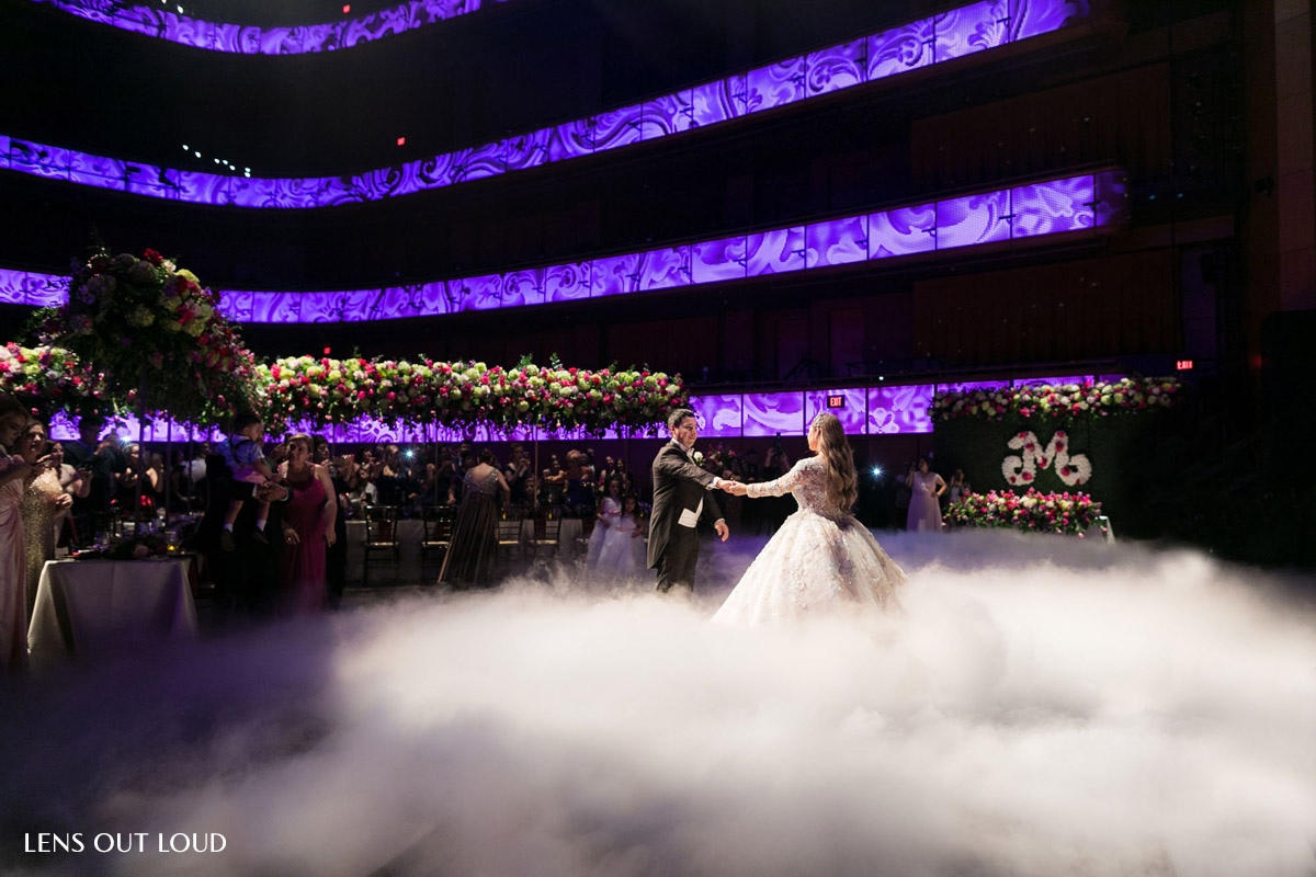 Tobin Center Wedding