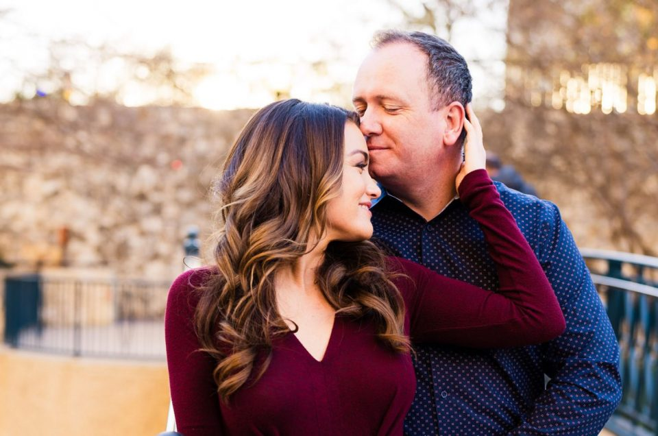 S.A. Riverwalk Engagement Session | Cara & Patrick