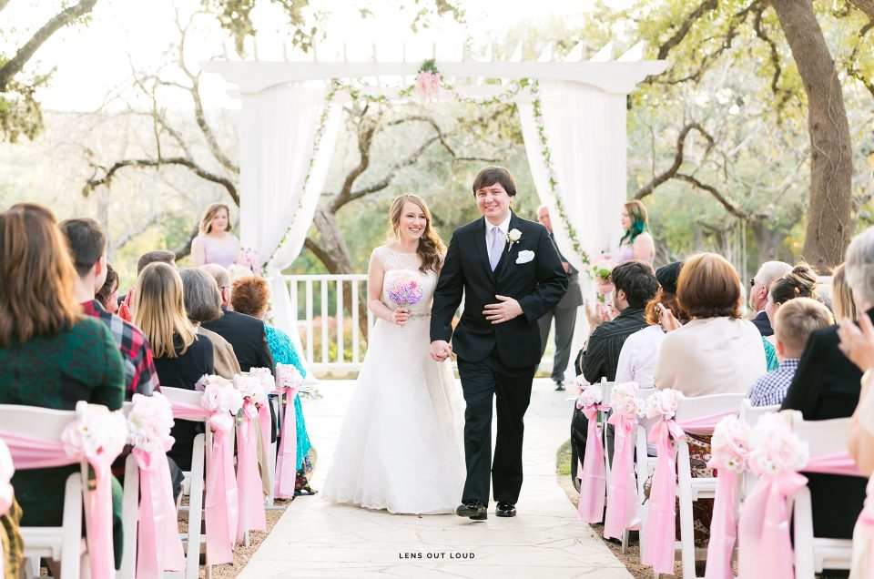 The Gardens at Old Town Helotes Wedding | Jessica & Brandon